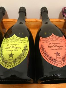 2002 Dom Perignon Andy Warhol - 2 bottles (75cl)