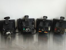 Lot of 4 Polaroid cameras