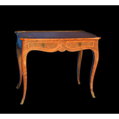 A Napoleon III writing table - rosewood - France - ca. 1880