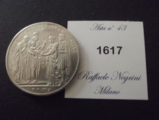 Papal States - Scudo, 1831, Rome, Gregory XVI - silver