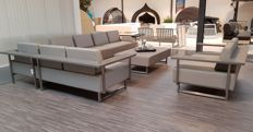 Lounge Exclusive PRO – Loungeset Outdoor Leather & Stainless Steel