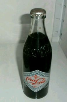 Coca Cola bottle, World Cup Spain 82, very rare