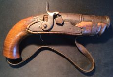 Heavy percussion pistol, or very old banger - salute weapon