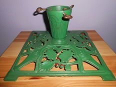 Large old Christmas tree stand