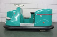 Rare IHLE mini bumper car (Ihle mini skooter) 1950s-1960s