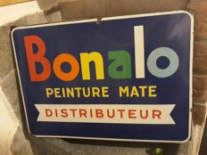 Enamelled signs of Bonalo -1950s