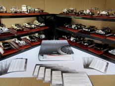 Atlas - Scale 1/43 - Lot with 30 models: 30 x Silver Cars collection