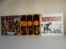 "Lot with 3 psych / jazz rock / funk / prog rock albums : ZOO ""ZOO"" on Mercury SR 61300, the Norman Haines Band ""Den of Iniquity"" on ANMO 11 (lim.edition), Brainticket ""Psychonaut"" on Bellaphon 220-07-021"