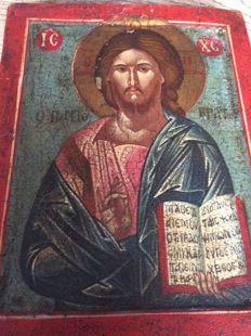 Hand-painted icon - 20th century