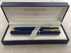 Waterman pen set, France - 1960s and 1970s