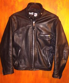 Schott - Motorcycle leather jacket - Size 40 (M), made in USA