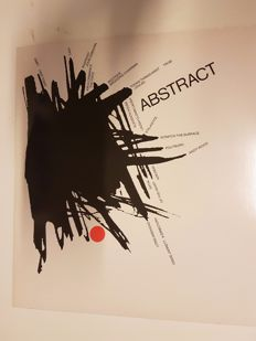 Various Artists - Abstract- new wave/electronic rock - 101 International, Intel-6, 2 Records.