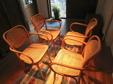 ZPM Radomsko - Four chairs - Mid 20th century