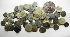 Ottoman Empire - Lot of 72 Coins. Mostly Silver. Early Types (72x)