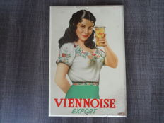 'Viennoise Export'- Billboard in tin -