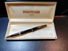 Waterman Paris fountain pen with 18 kt gold nib - complete with original box