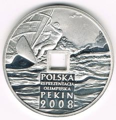 Poland - 10 Złotych 2008 XXIX Summer Olympic Games, Beijing 2008 - silver