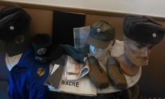 Lot East German military items