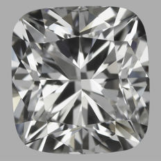 Cushion Modified Brilliant 1.01 ct FVS2 -IGI  -original image-10X serial#18111
