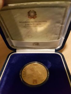 Italy - 50 Euro 2005 'Europa delle Arti - Francia' (Europe of the arts - France) - gold