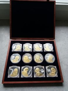 "Germany - various medals 2008 ""The 12 Apostles"" in case"