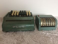 Calculator Plus and adding machine from England. Early 20th century.