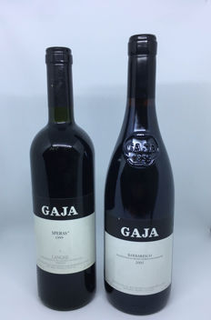 Gaja Barbaresco 2005 & Sperss 1999 - 2 bottles (75cl)