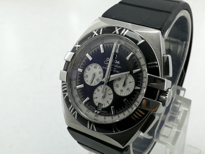 Omega - Constellation Double Eagle Co-axiale Chronograph - Ref. 1819.51.91 - Mens Watch