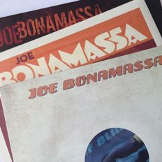 Joe Bonamassa, lot of three mint condition LPs, including picture disc