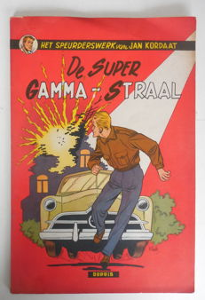 Jan Kordaat 2- De super Gamma-straal - sc - 1e druk - (1954)