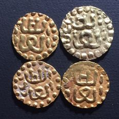 Indonesia - Lot of 4 Samudera Pasai ± 13th century (4 pieces) - gold