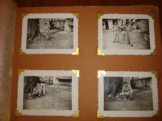 French Indochina photo album - Militaria and daily life
