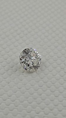 0.71 carat  round brilliant natural loose diamond  &  14k gold ring