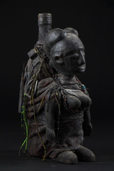 Boccio Fetish, Voodoo Bottle - FON - Benin