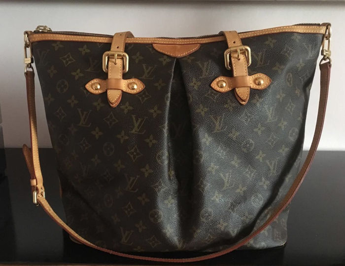 d9f08c0345 ... Monogram Canvas | Luxury Bags Louis Vuitton - Palermo GM Borsa a  tracolla - Catawiki