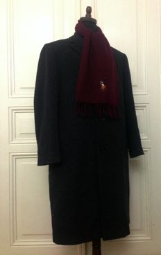 Ralph Lauren - Coat and Cashmere Scarf