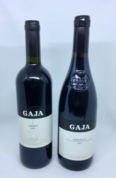 Gaja Sperss 2000 & Gaja Barbaresco 2005 - 2 bottles (75cl)