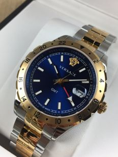 Versace Hellenyium GMT V1106 0017 - men's watch