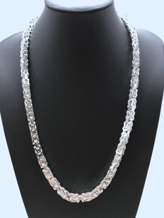 Silver King's necklace (925 kt) - 202 g - 65.5 cm