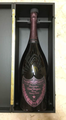 2000 Dom Perignon Rosè -  1 Mathusalem (6Ltr) - rare edition only 60 bottles in the world
