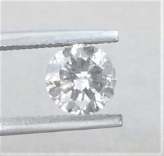 Round Brilliant Cut  - 1.01 carat - G color - SI2 clarity - Low Reserve