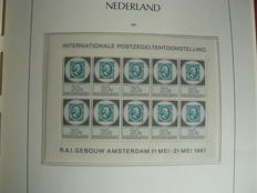The Netherlands 1966/2000 - Collection in 2 Leuchtturm albums