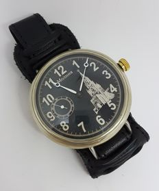 Sovjet Molnija regulator military marriage watch
