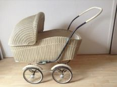 Art Deco (vintage) stroller Hecker or Naether, Germany, 1940s