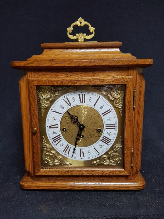 Large table clock by Franz Hermle with Westminster - 20th century
