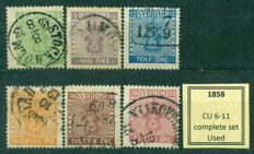 Sweden 1855/1928 - Collection of 166 classic and early stamps