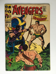 Marvel Comics - The Avengers #40 - 1x sc - (1967)