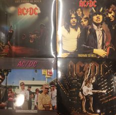Four albums of AC/DC || still sealed || Great quality