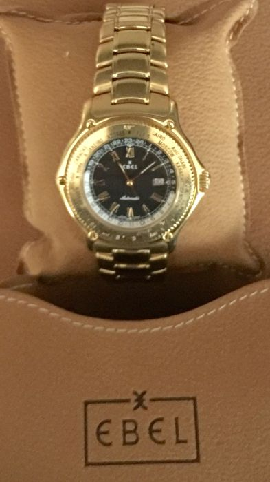 Ebel - Ebel Voyager Discovery GMT Worldtime Automatic - 8124913 - Uomo - 1970-1979