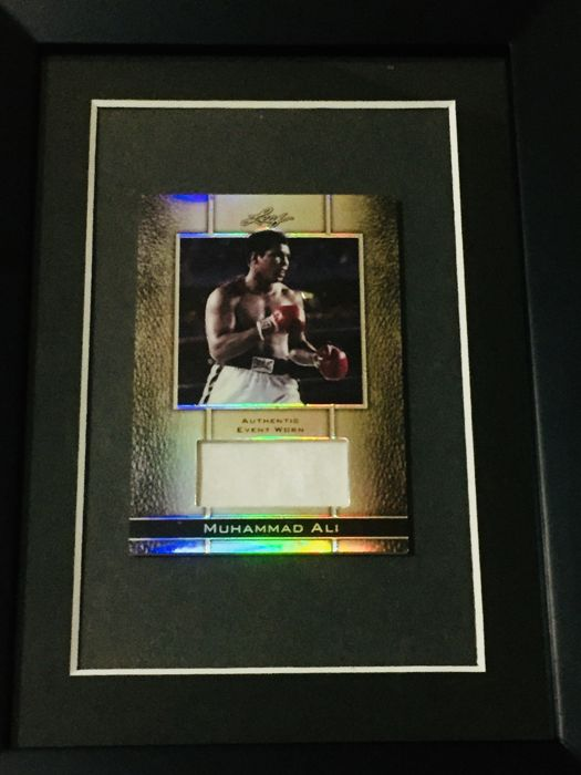 Muhammad Ali - Original Event Worn and Used Swatch by the Legend  - Limited Edition 65/70